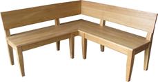 massivholzm bel helwig unsere massivholz eckb nke im landhausstil. Black Bedroom Furniture Sets. Home Design Ideas